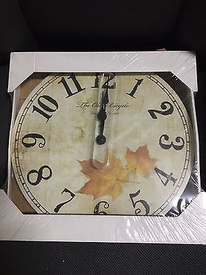 *NEW* The Old Bicycle Wall Clock New In Package