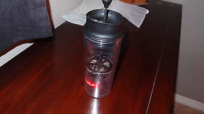 BODUM INSULATED Plastic Travel French Press Coffee/Loose Tea Mug