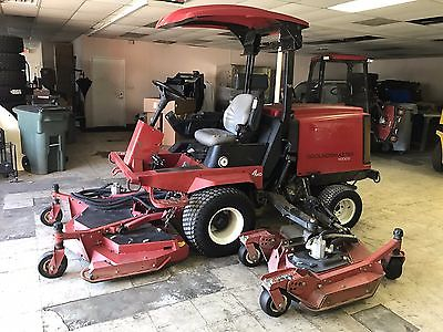 2010 Toro 4000D 4WD Diesel Ride On Lawn Mower 11' Cut Ex-City, 1585 Hours