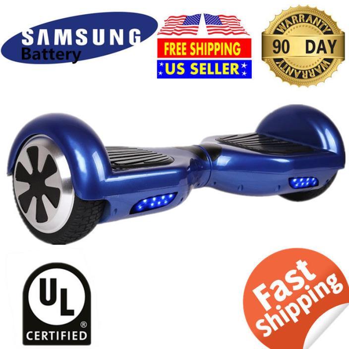 UL Listed Balancing Wheel Electric Self balance Scooter Skateboard Hoverboard#B