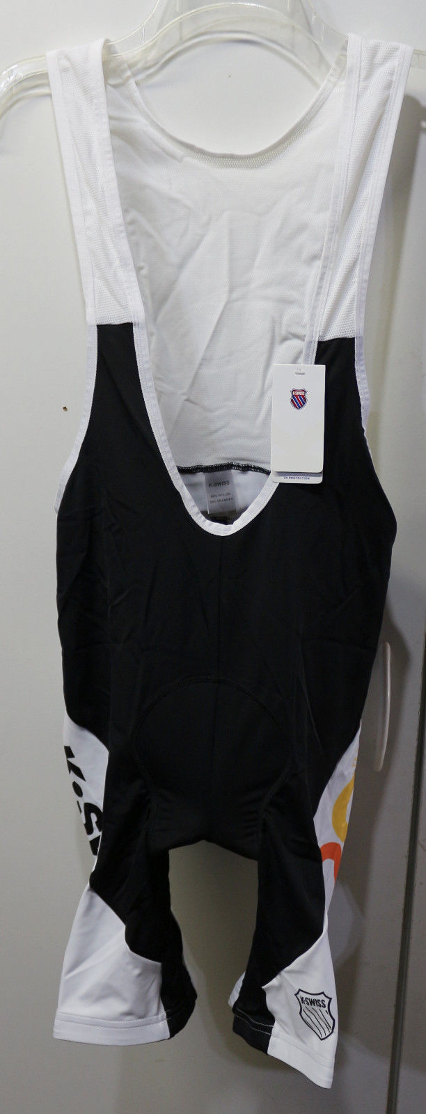 NWT K-Swiss Stand Up to Cancer Men's Tri Elite Pro Cycling Bib Shorts KSWISS MED