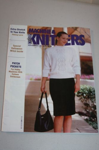 Machine Knitters Source Magazine Knitting Machine September/Oct 2001