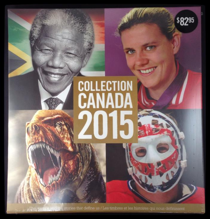 ?Stamp Collection Album? 2015 Annual Yearbook of Canadian Stamps