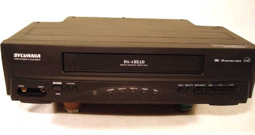 Sylvania 6240vd Da 4 Head, 19 Micron Head VCR Player and Recorder
