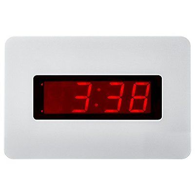 Kwanwa Electric Wall Clock Electronics Features Battery Operated Only With Big A