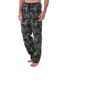 CAMOUFLAGE - CAMO - MENS Fleece PJ pants Lounge sleep wear PJ's Size Med NEW