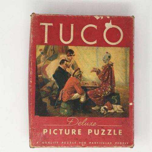Vintage Deluxe Jigsaw Tuco Puzzle 16x20