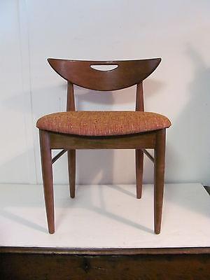 Vintage Mid Century Modern Danish Cats Eye Chair