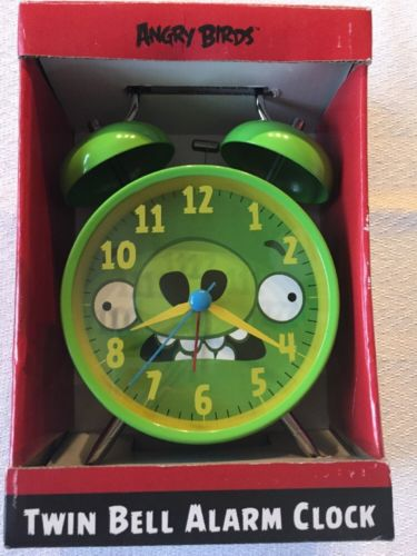 Angry Birds Twin Bell Alarm Clock