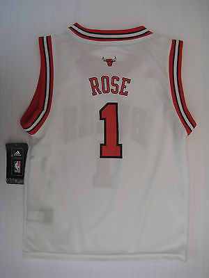 Adidas Chicago Bulls Rose #1 Youth (5-7) Home Jersey