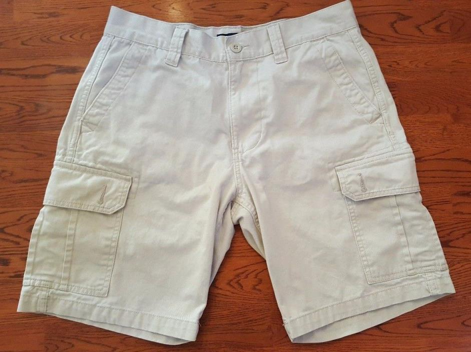 Men's US Polo Assn. Khaki Cargo Shorts Size 32