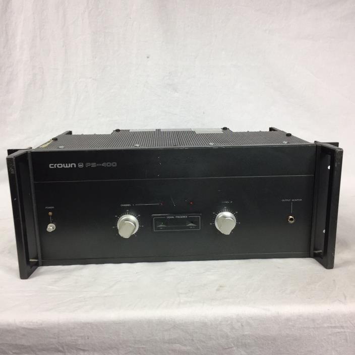 Crown PS-400 Power Amplifier