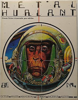 METAL HURLANT magazine #4 [Moebius, Richard Corben, Dionnet, Voss, Serge Clerc]