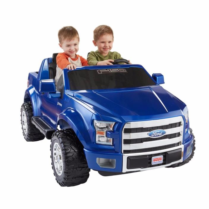 Power Wheels Ford F-150 12-Volt Battery-Powered Ride-On, Kids Bikes and Riding