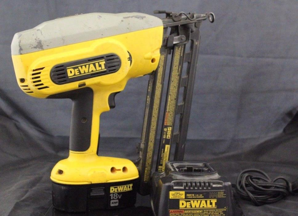 DeWalt DC618 18V Cordless Finish Nailer