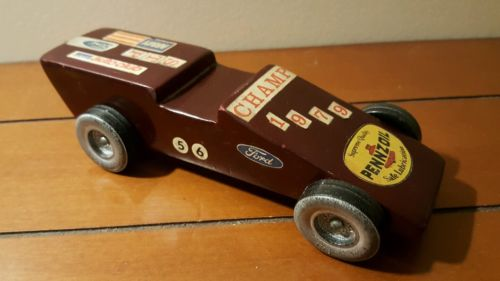 PINEWOOD DERBY Racing CAR Boy Scouts Collectible SCOUTING Americana VINTAGE 1979