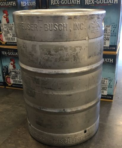 Beer Keg Empty 15.5 Gallon Home Brew Fermenter Stainless Sankey D System