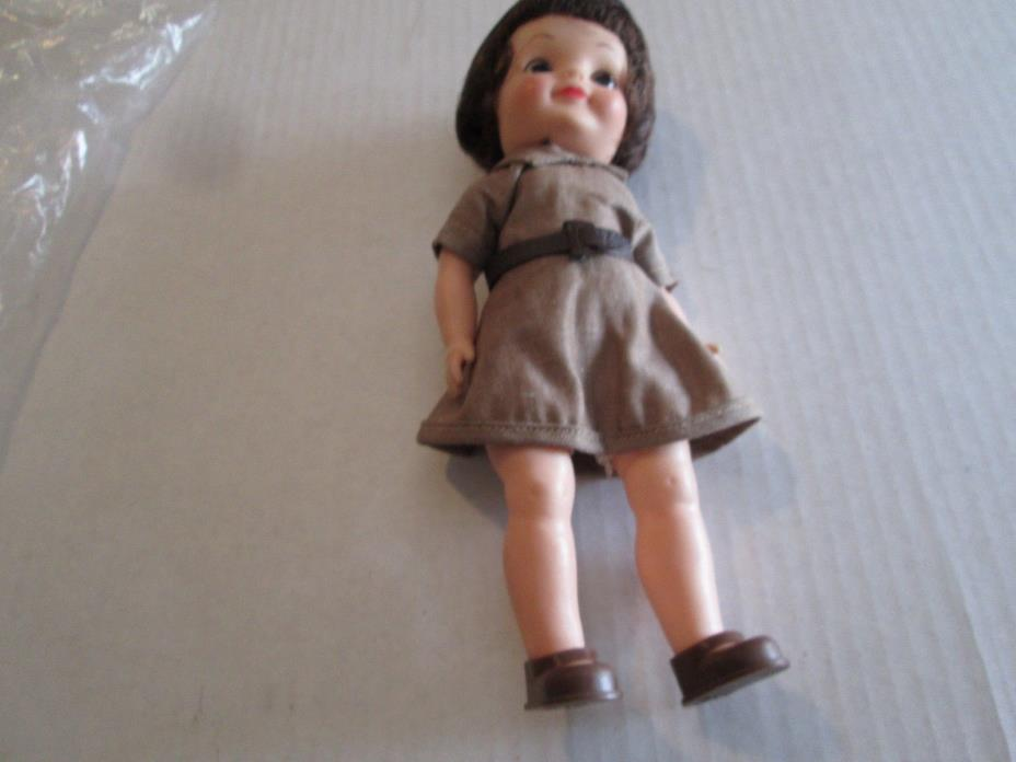 Vintage 1960's Effanbee Fluffy Brownie Girl Scout Doll