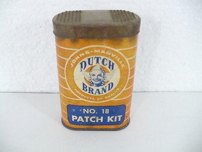 Antique Dutch Brand Tire Patch Kit no. 18