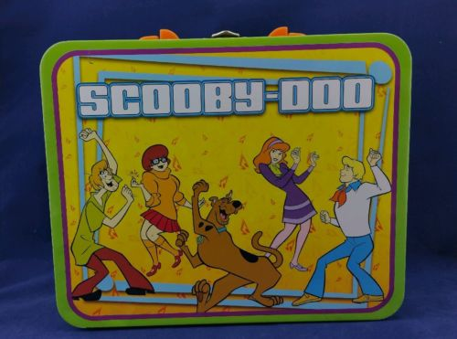 2011 Scooby Doo Metal Tin Lunchbox Lunch Box #10619