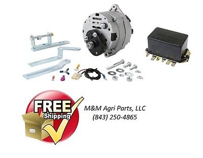 ALTERNATOR CONVERSION KIT FORD 2000 3000 4000 5000 6000 7000 TRACTOR FREE SHIP