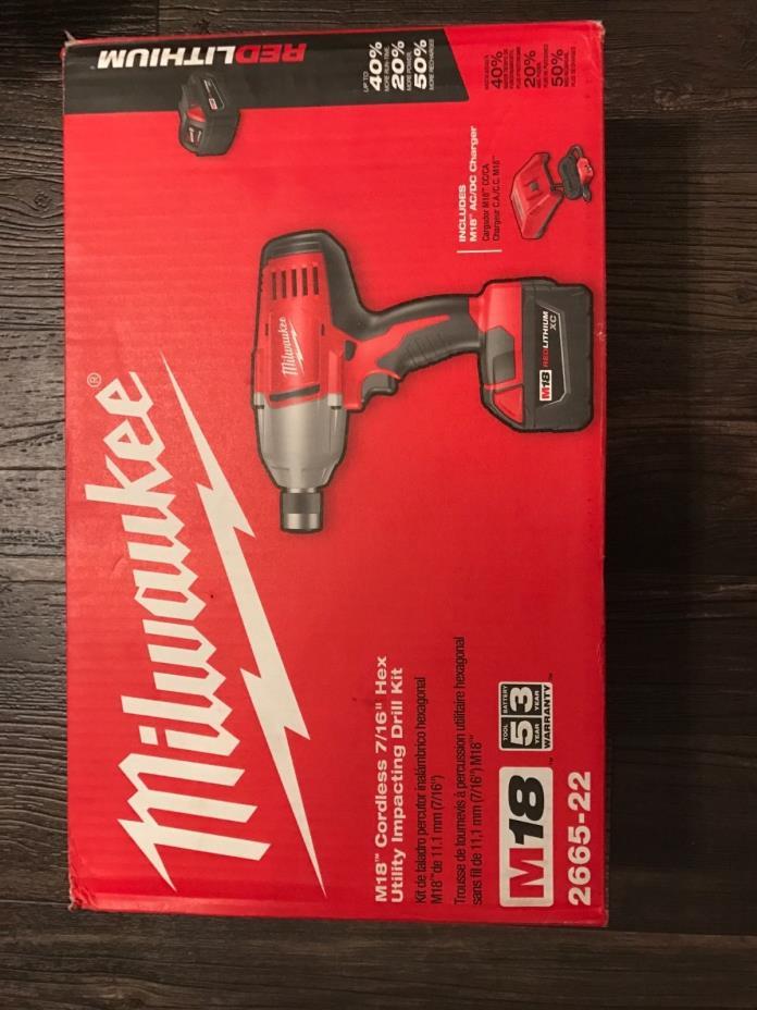 Milwaukee M18 cordless 7/16