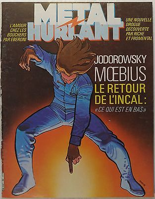 METAL HURLANT magazine #86 [Moebius, Jodorowsky, Richard Corben, Yves Chaland]