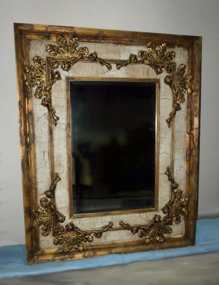 1071-801: Exquisite JOHN RICHARD Gilt Mirror JRM342