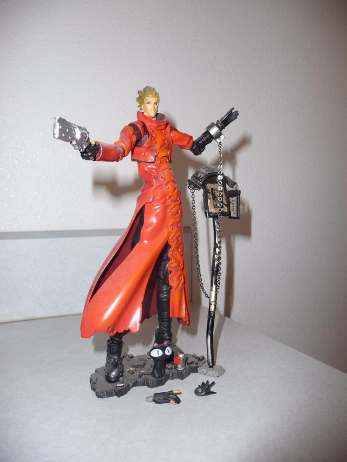 Trigun ~ LOOSE and complete Vash the Stamped Kaiyodo Figure