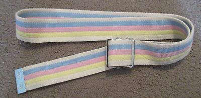 Skil Care Assisted Lift Belt Pastel Rainbow Color 57.5
