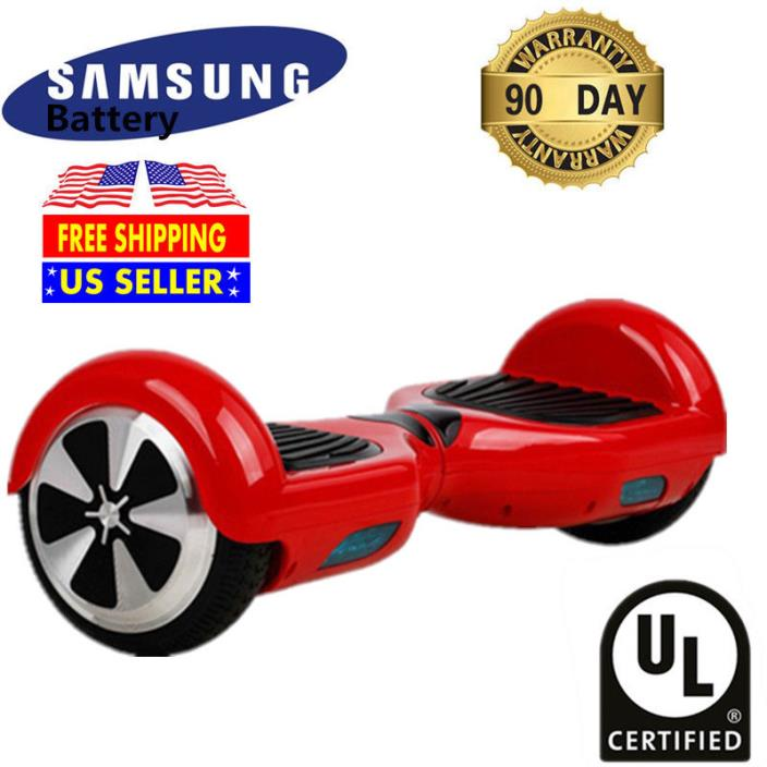 UL Listed Balancing Wheel Electric Self balance Scooter Skateboard Hoverboard#R