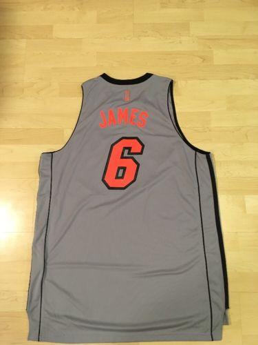 NBA Lebron James Miami Heat Adidas Jersey (2XL)