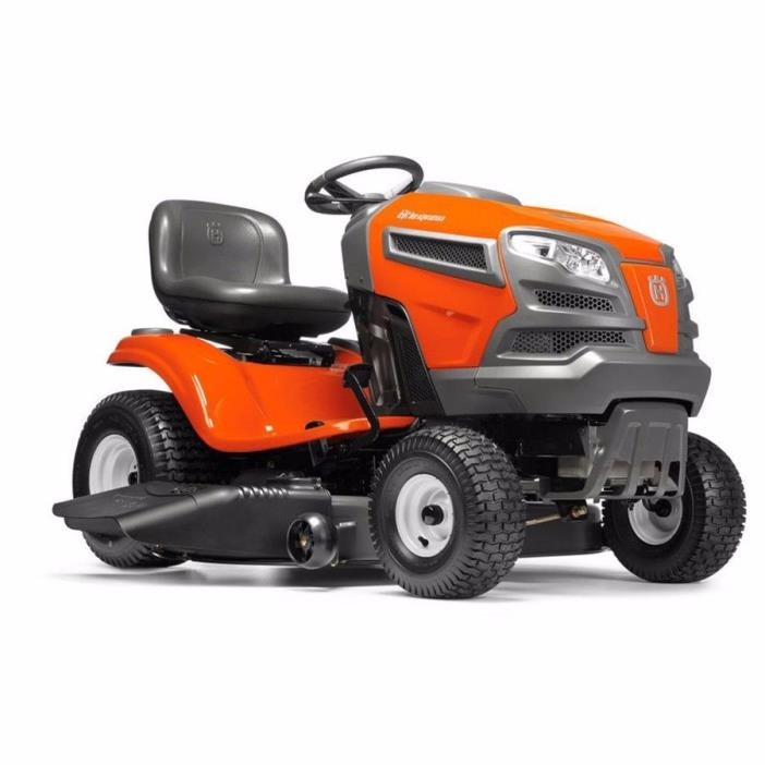 Husqvarna YTA22V46 22-HP V-Twin Automatic 46-in Riding Lawn Mower