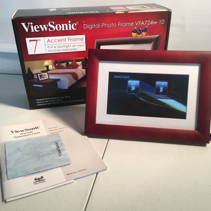 NEW - ViewSonic VFA724w-10 7