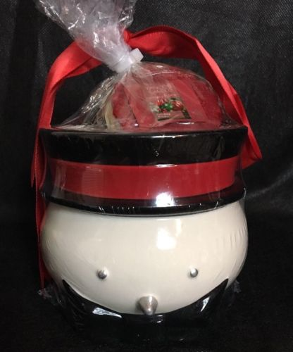 Yankee Candle Snowman Tart Warmer And Tarts Gift Set NEW
