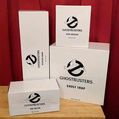 Ghostbusters Matty Prop Complete Collector Collection MIB Sealed Never Opened