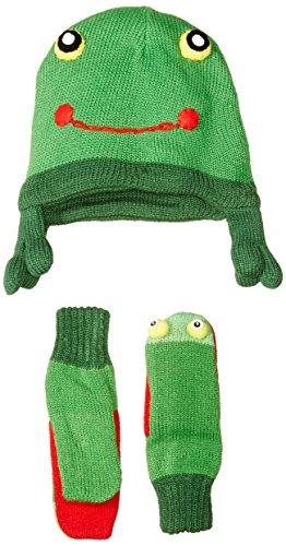 Kidorable Little Boys' Frog Hat Scarf Set
