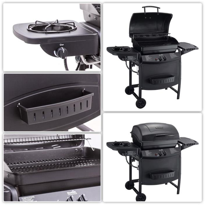 Grill Gas Outdoor Portable Propane Burner Smoker BBQ Patio Kitchen Cooking New