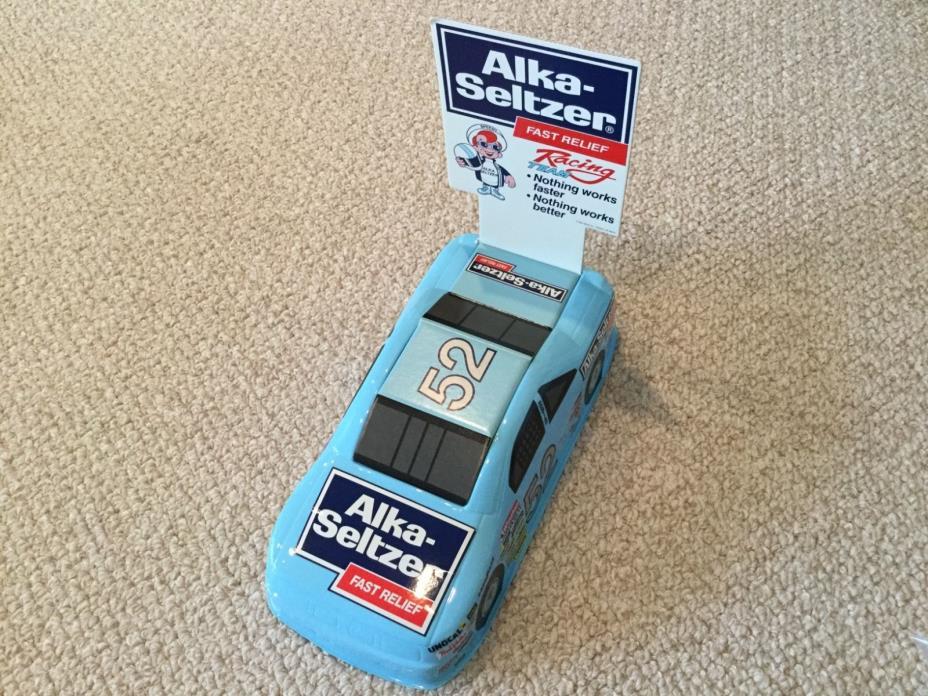 *RARE/VINTAGE* Jimmy Means Alka-Seltzer #52 NASCAR  Winston Cup Race Car Display
