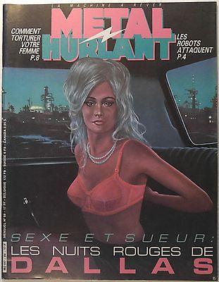 METAL HURLANT magazine #88 [Moebius, Jodorowsky, Yves Chaland, Richard Corben]