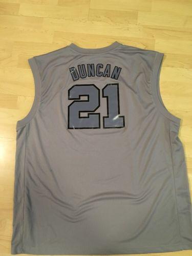 NBA Tim Duncan San Antonio Spurs Adidas Jersey (2XL)