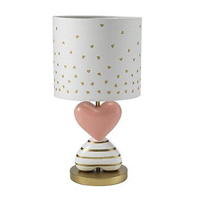 Lambs & Ivy Dawn Lamps Shades Lamp with Shade & Bulb