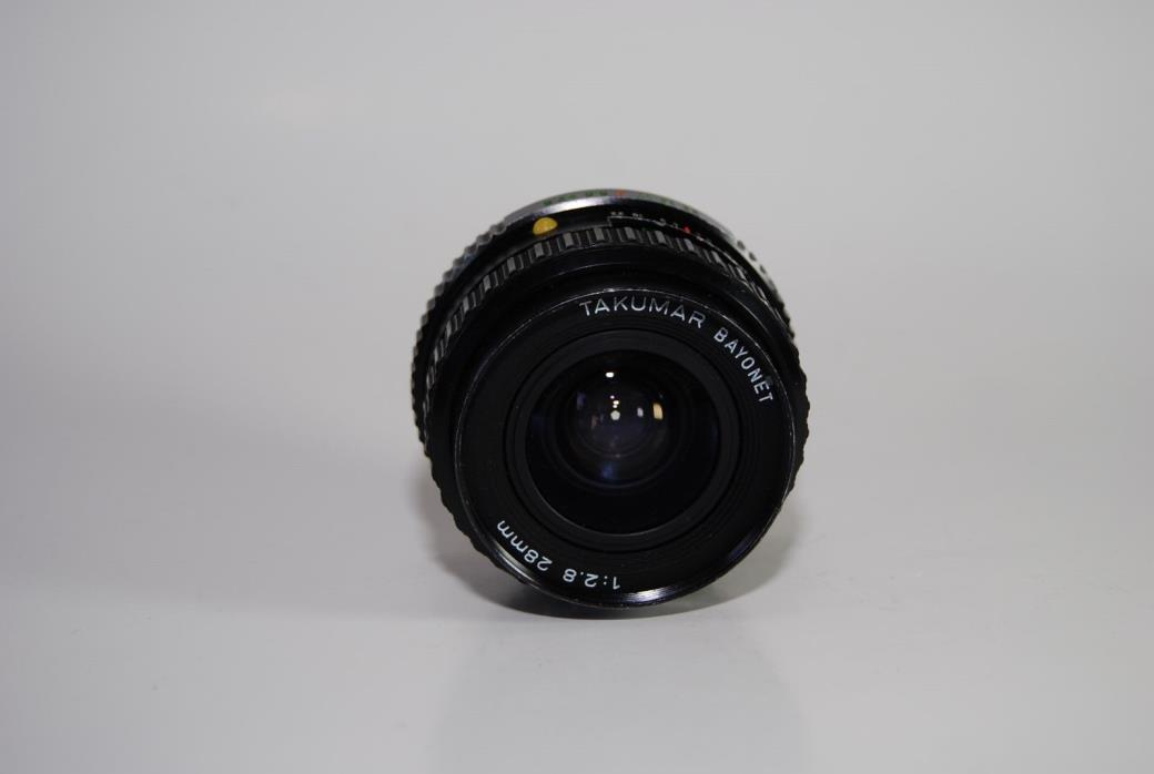 Takumar Bayonet 28mm f/2.8 Pentax PK Manual Focus Lens