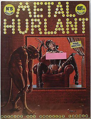 METAL HURLANT magazine #5 [Moebius, Richard Corben, Philippe Druillet, Alexis]