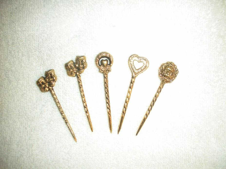 Theatrical Antique Hair Pins (One of a kind)