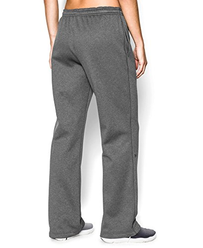 Under Armour Women's Armour Fleece Pant Large Carbon Heather