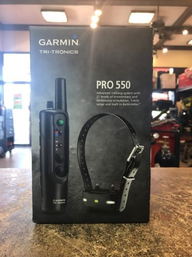 Garmin Tri-Tronics PRO 550 Electronic Remote Dog Training Collar 010-01202-00