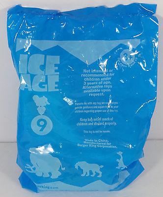 New Unopened 2002 Burger King Ice Age Loop De Loop Roshan Kids Meal Toy # 9