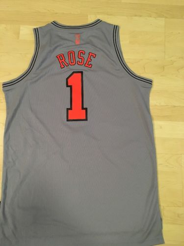 NBA Derrick Rose Chicago Bulls Adidas Jersey (L)