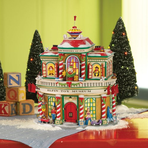Department 56 North Pole Elfin Toy Museum
